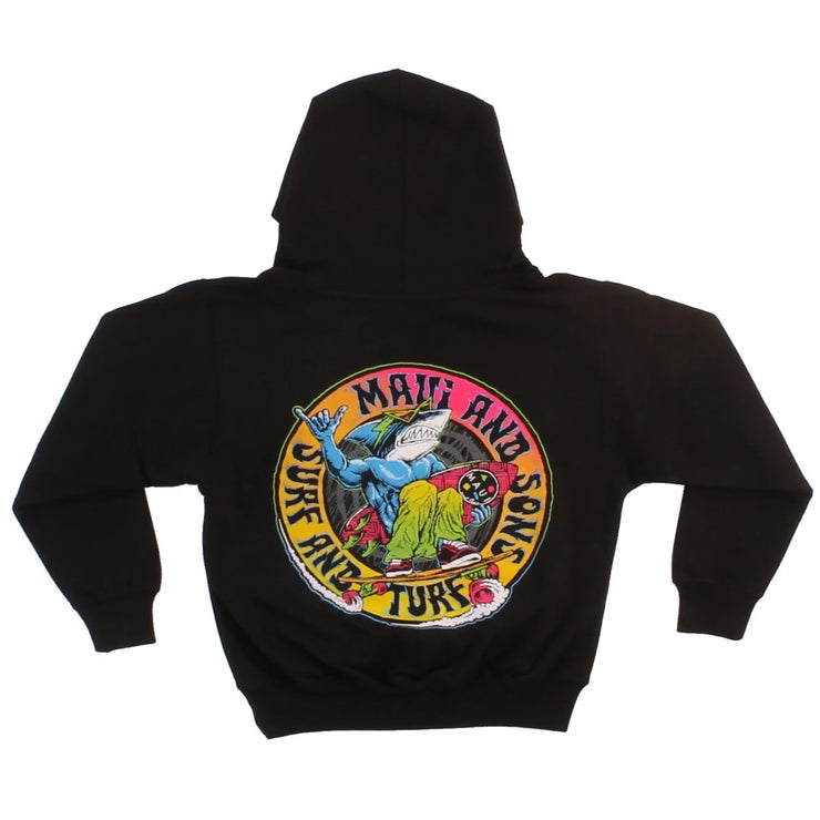 Street Carving Boys Hoodie Fleece
