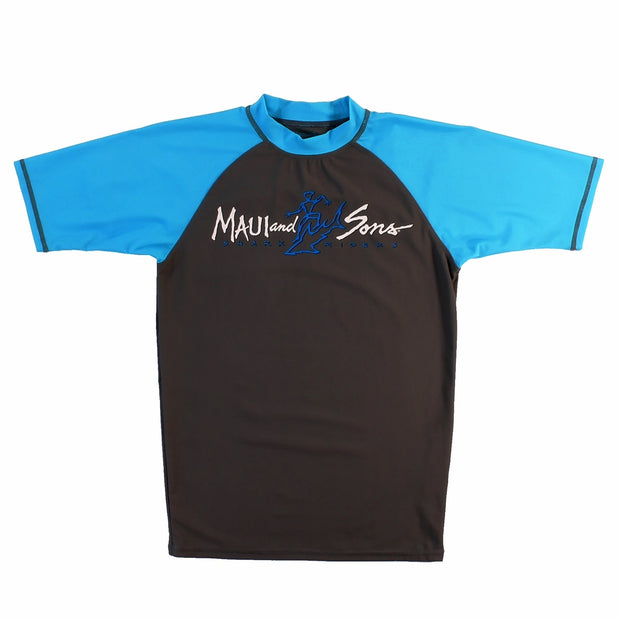 Shark Ride Mens Shortsleeve Rashguard