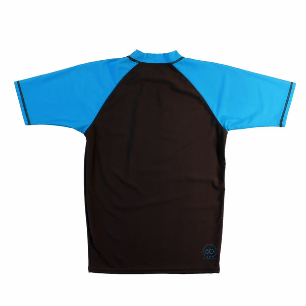 Shark Ride Men's Short sleeve Rash guard
