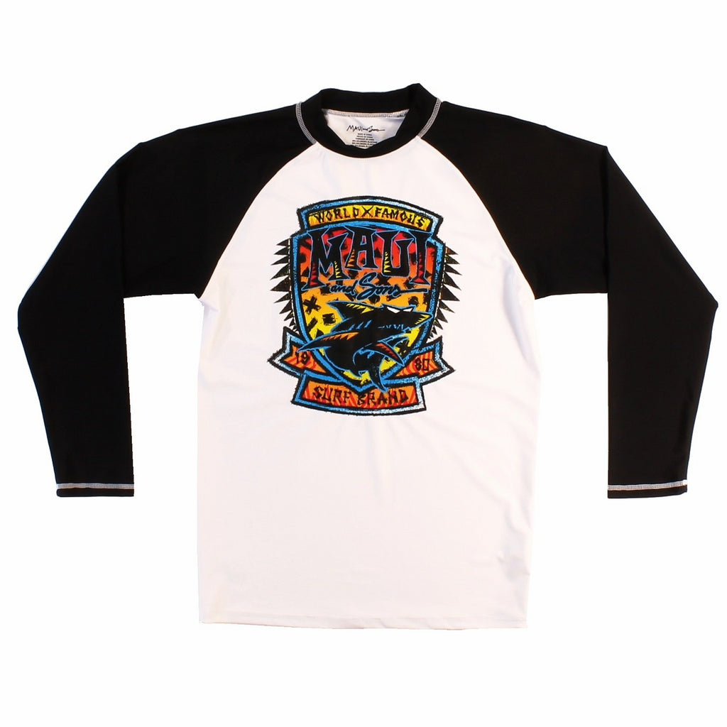 Surf Badge Mens Long Sleeve Rashguard