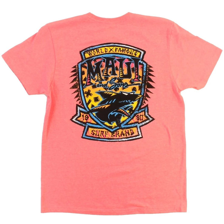 Surf Badge Mens Tshirt