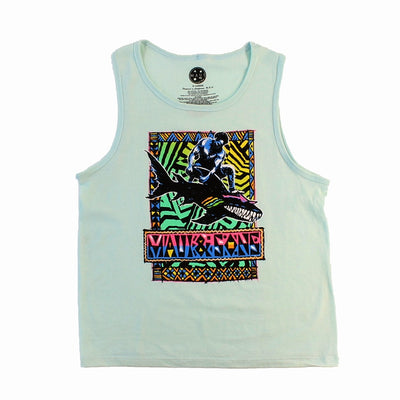 Boys Shark Ripper Tank Top