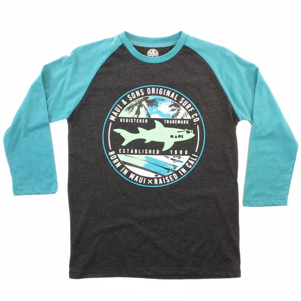 Born In Maui Mens Longsleeve