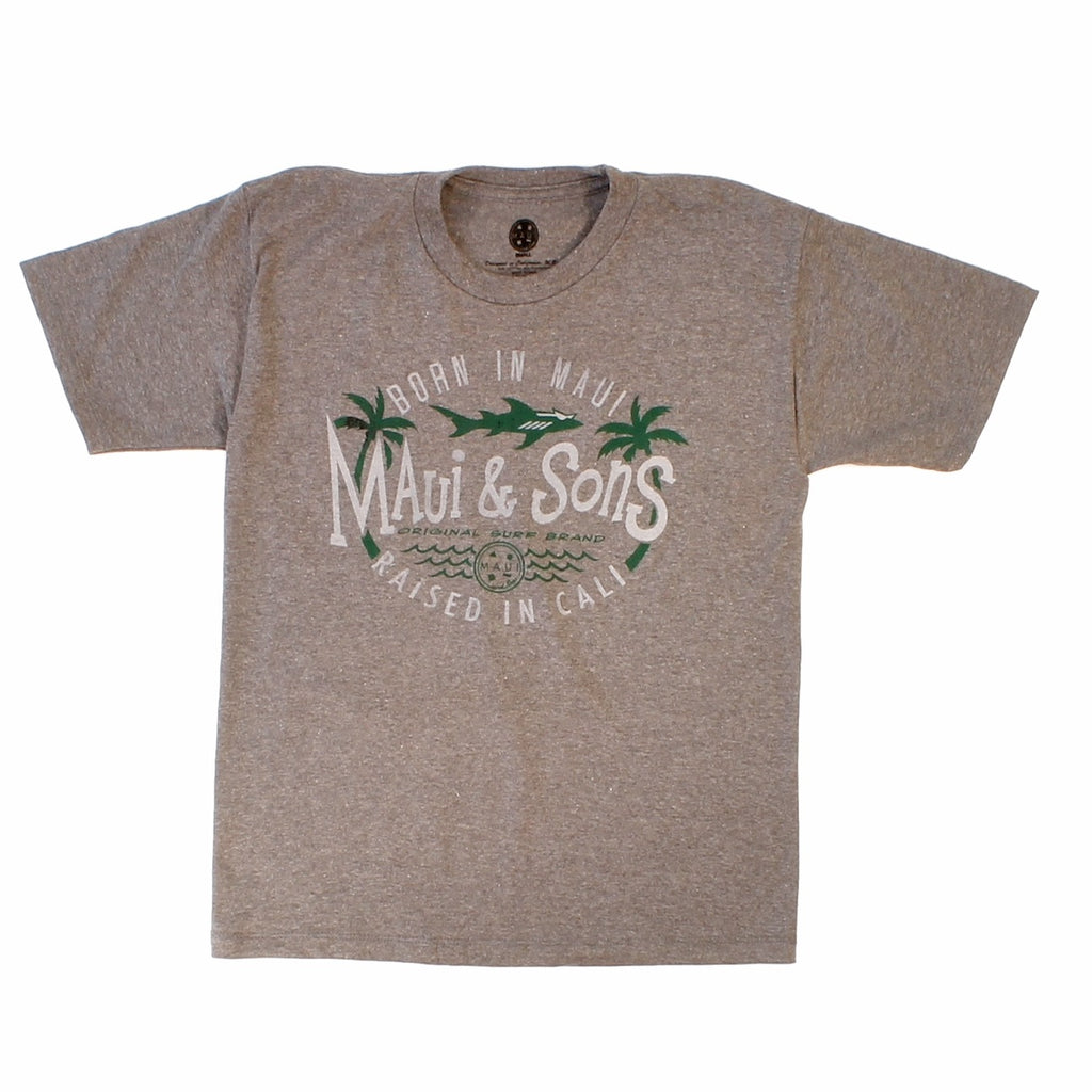 "Boys ""Born In Maui"" T-Shirts"