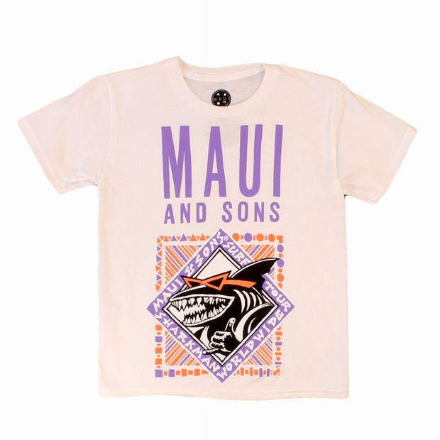 Boys Shark Row T-Shirts