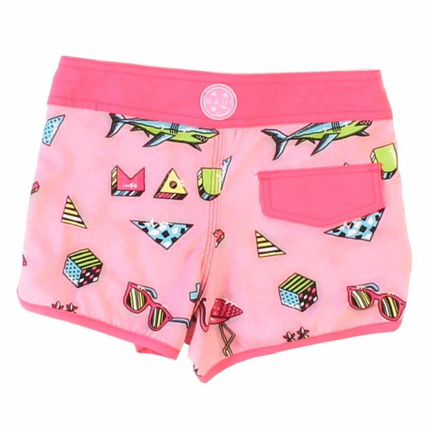 Flamingo Fun Girls Boardshort