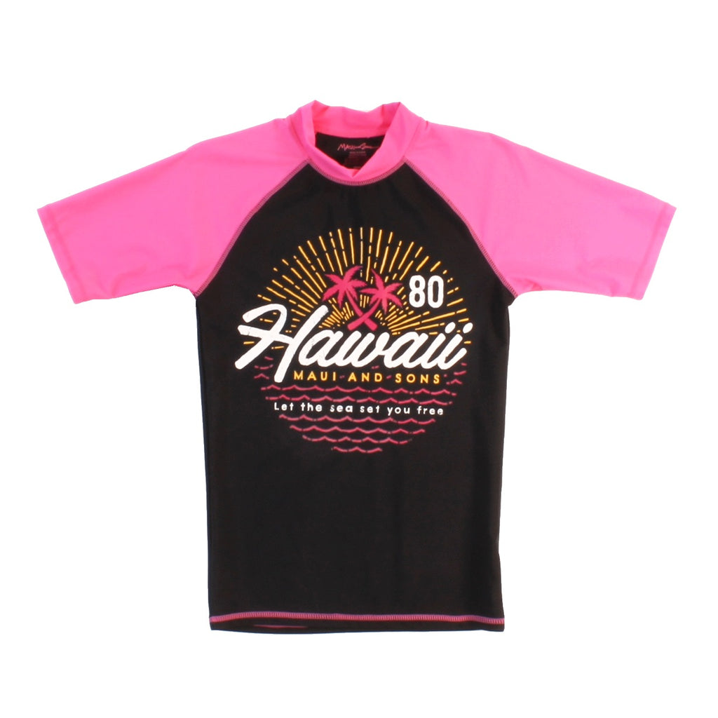Hawaii Day Womens Rashguard