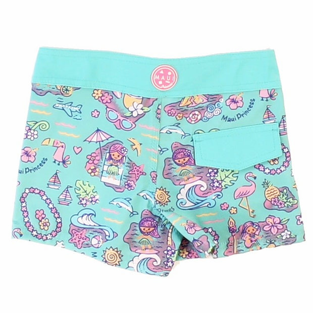 Island Memories Girls Boardshort