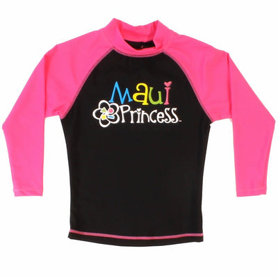 Princess Girl's Rash guard