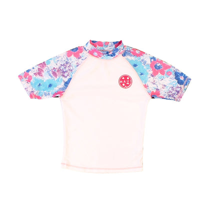 Hawaii Floral Girls Rashguard
