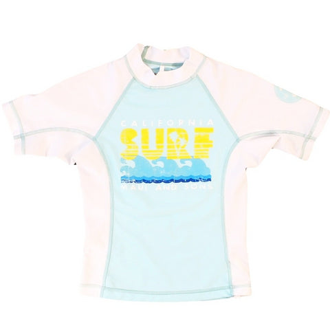 Grs109 Girls' cali surf rashguard
