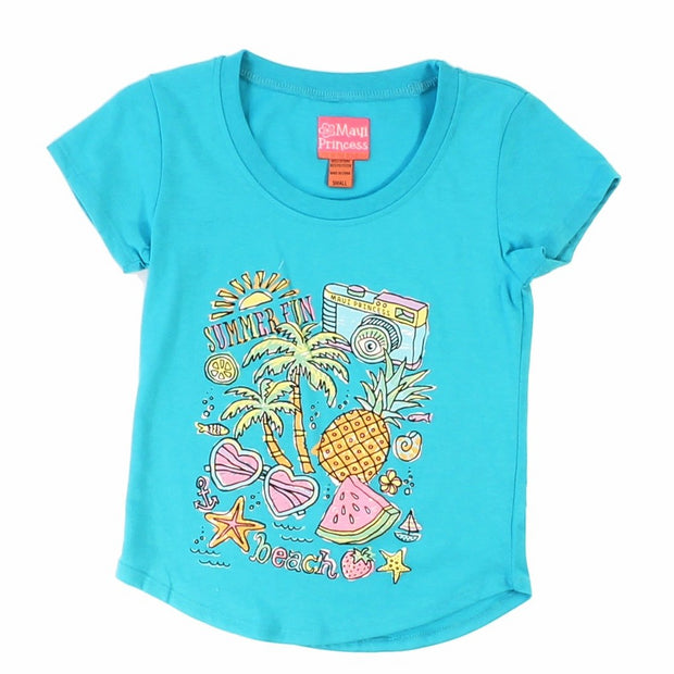 Summer Fun Girl's T-Shirts
