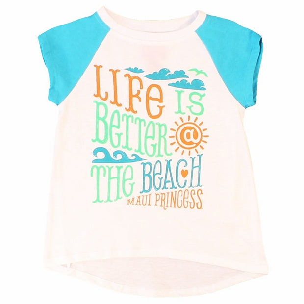 Better At The Beach Girl's T-Shirts