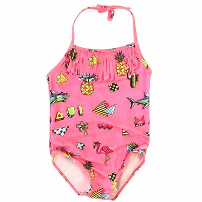 Retro Remix Girls One Piece Swimsuit