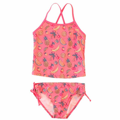 "Girl's ""Tutti Fruity"" 2 piece swimsuit"