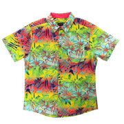 Tropical Vibe Mens Woven Shirt