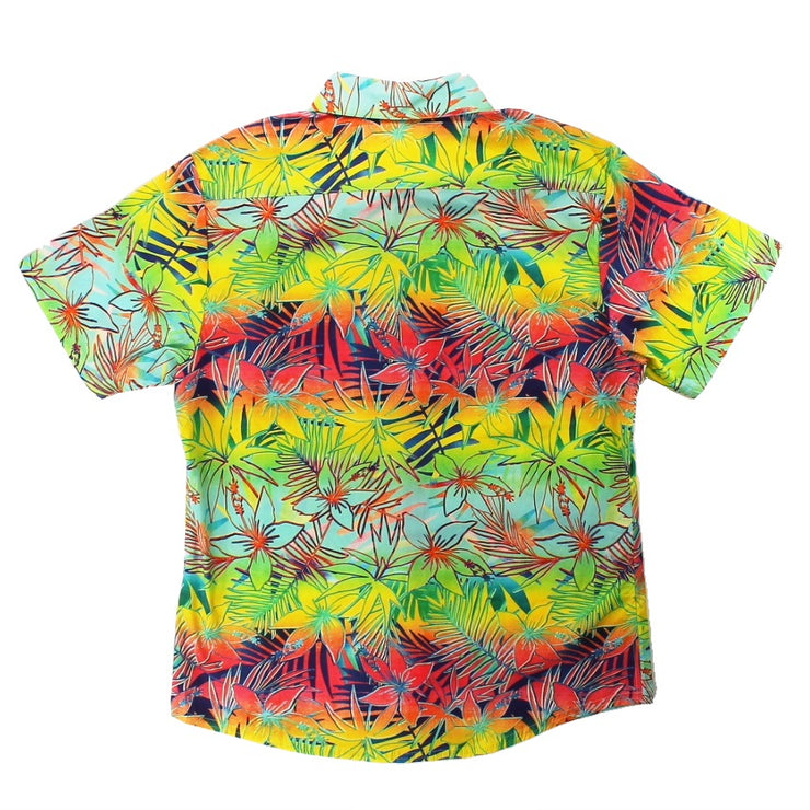 Tropical Vibe Men's Woven Shirt