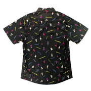 Funky Flamingo Men's Woven Shirt