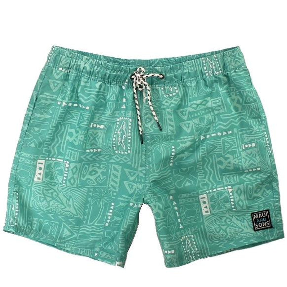 Element Tapa Mens Pool Short