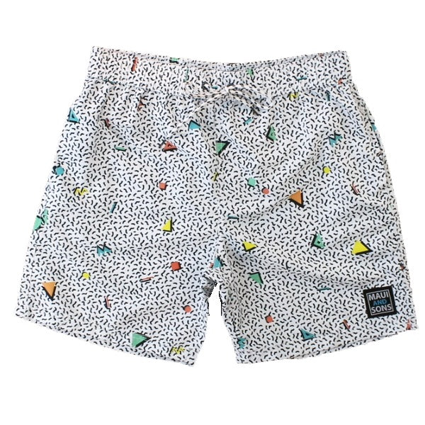 Jumbled Mens Pool Short