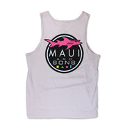 Pastel Shark Logo Tank Top