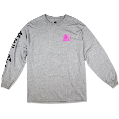 Fish Out Of Water Long Sleeve-Grey