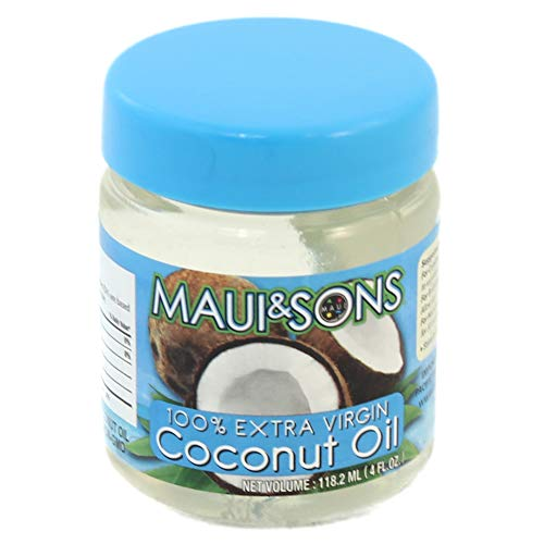 Maui and Sons  Extra Virgin Coconut Oil-4oz packs, 18, 40, or 75 case pack
