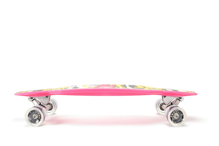 Freeride Longboard Skateboard-Complete With X-Caliber Trucks, Abec 7 Bearings 29""
