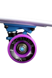 "24"" Cruiser Kicktail Skateboard Featuring X-Caliber Trucks And Abec 5 Bearings"