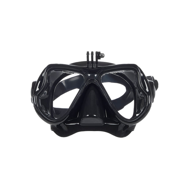 Diving Mask with GoPro Camera Mount