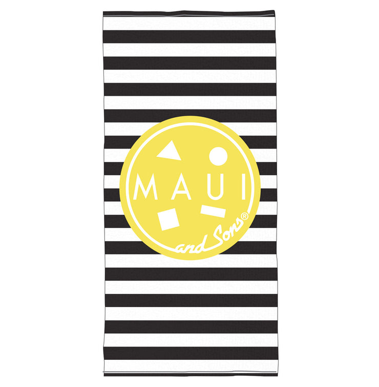 Striped Cookie Beach Towel