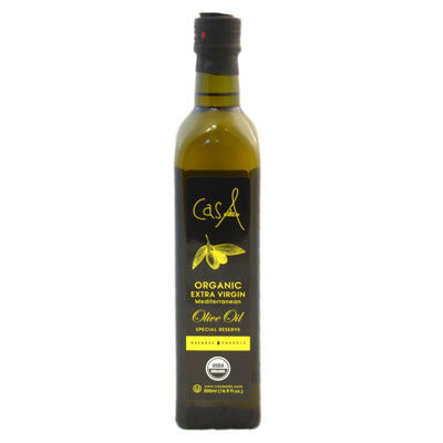 Maui And Sons- Casa Aldo ORGANIC, EXTRA VIRGIN OLIVE Oil, 2pk of 500ml