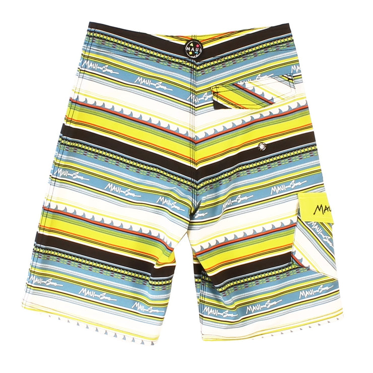 Tribal fins Boy's Board short