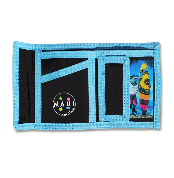 Retro Wallet - Blue