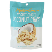 Maui And Sons Yogurt Coconut Chips, 1.4 OZ packs- 10,18 or 42 case pack