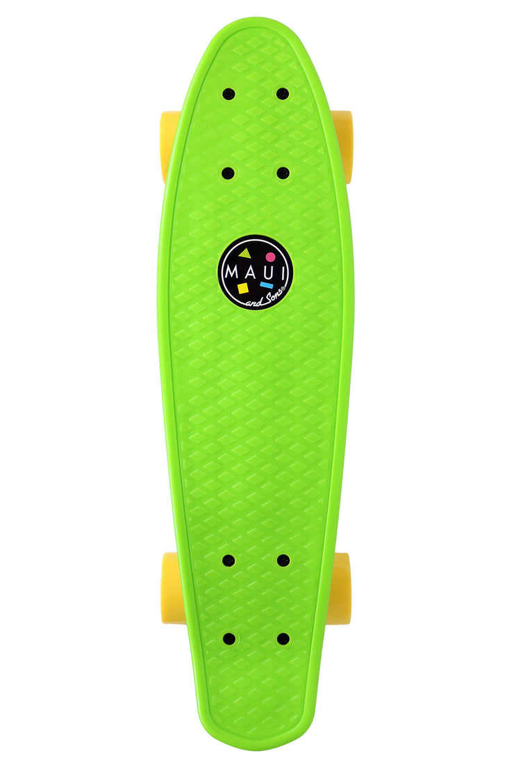"Maui and Sons 22""  Micro Cookie Skateboard- 4 Classic Colors"
