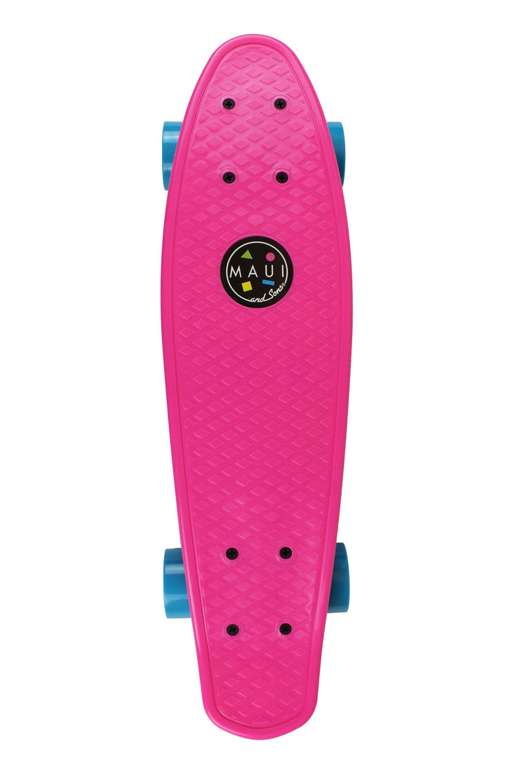 "Maui and Sons Classic 22""  Micro Cookie Skateboard- 4 Classic Colors"