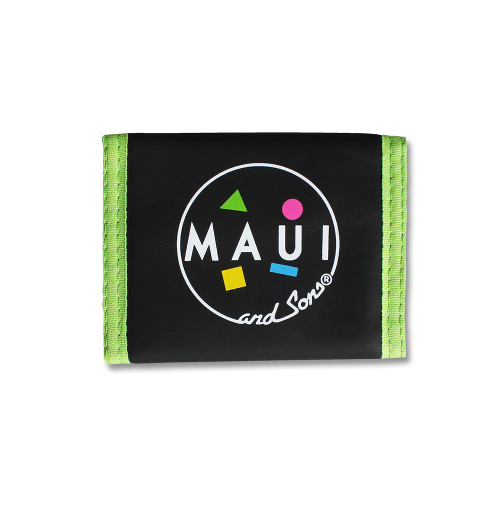 Retro Wallet - Green
