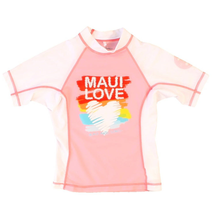 Girls' Maui Love Rashguard