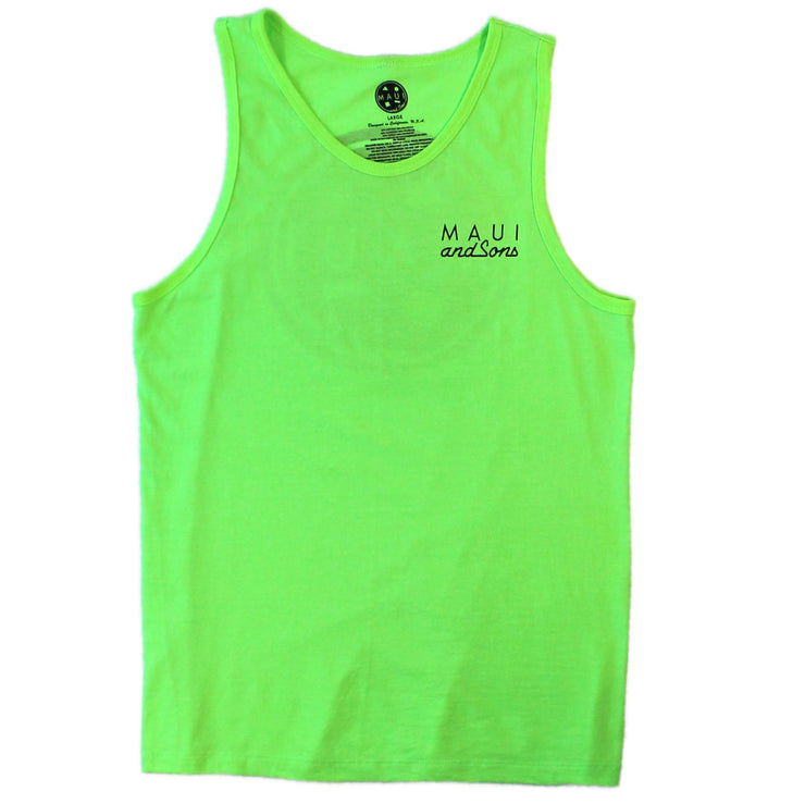 Classic Neon Color Cookie Logo Tank Top-Multi Colors