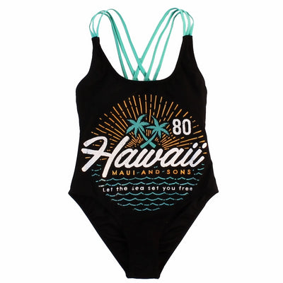 Set Free Womens One-Piece Swimsuit