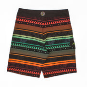 Neon Wave Stretch  Boardshort
