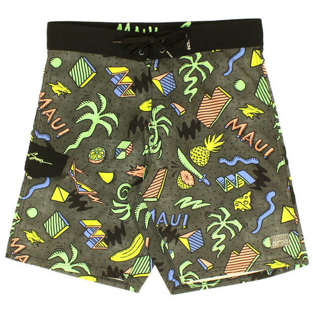 Men's Island Slice Board Shorts