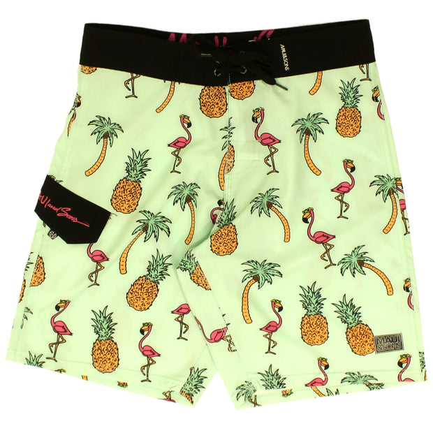 Men's Flamingo Mingle Board Shorts