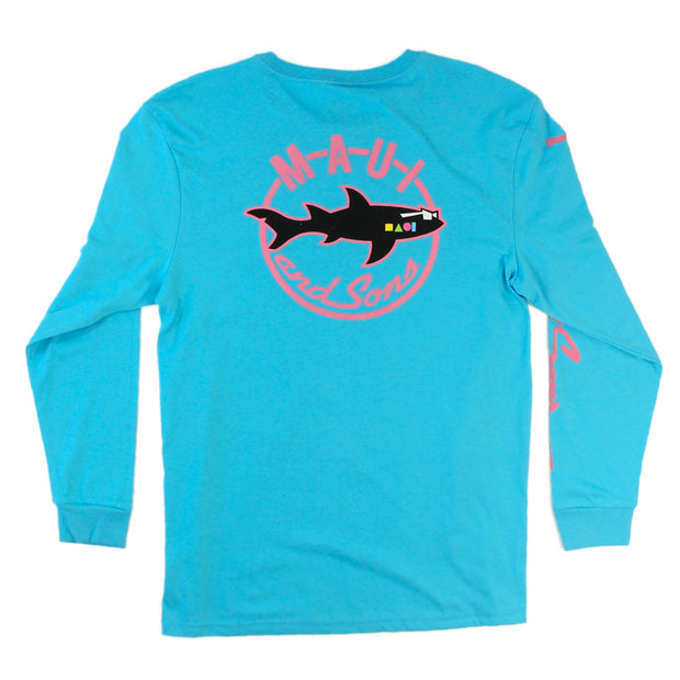 Shark Nation Mens Longsleeve