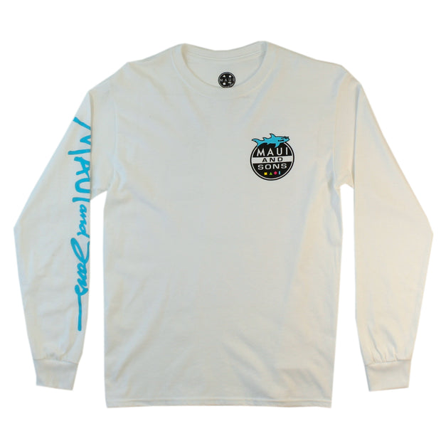 Shark Attack Mens Longsleeve