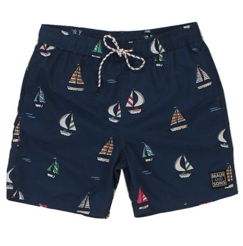 "Mens ""Sailin"" Pool Short"