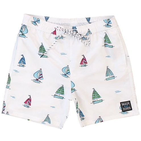 "Men's ""Sailin"" Pool Short"