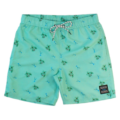 Palms & Martinis Men's Pool Short