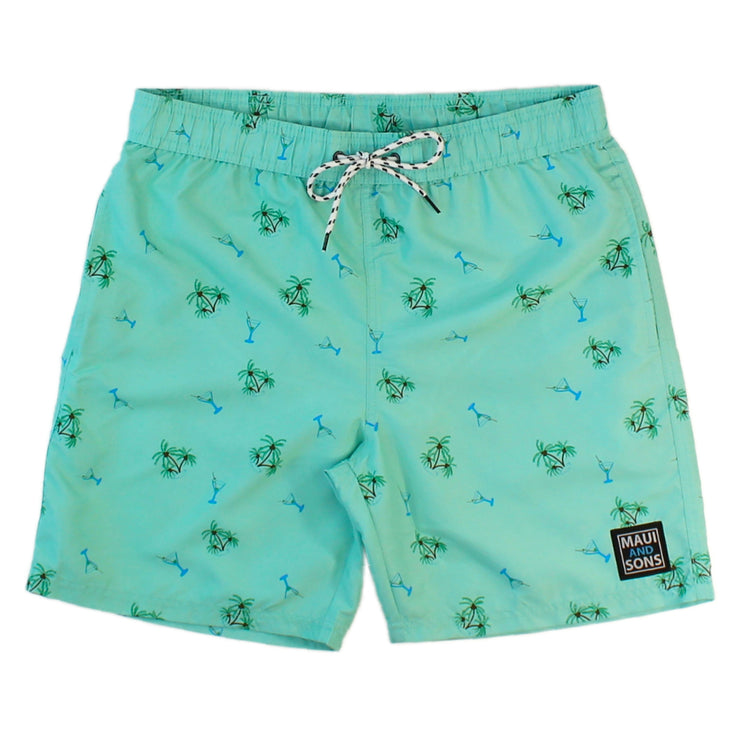 Palms & Martinis Mens Pool Short